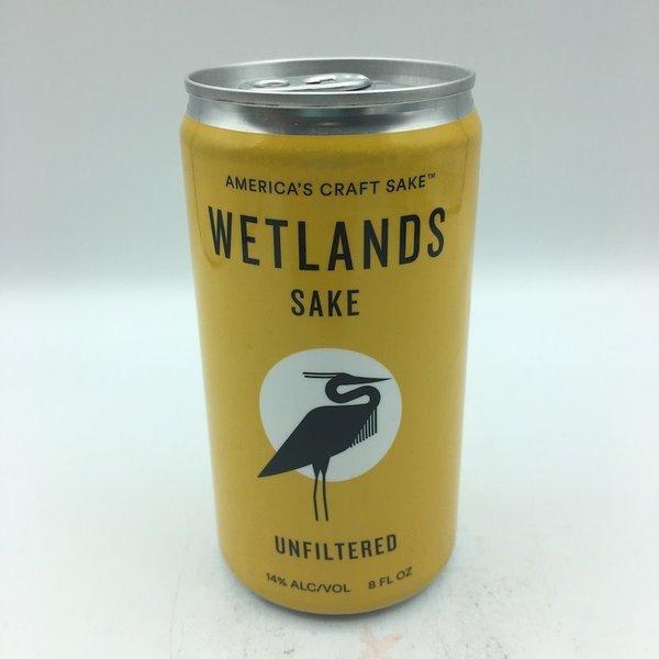 Wetlands Unfiltered Sake SINGLE  8OZ