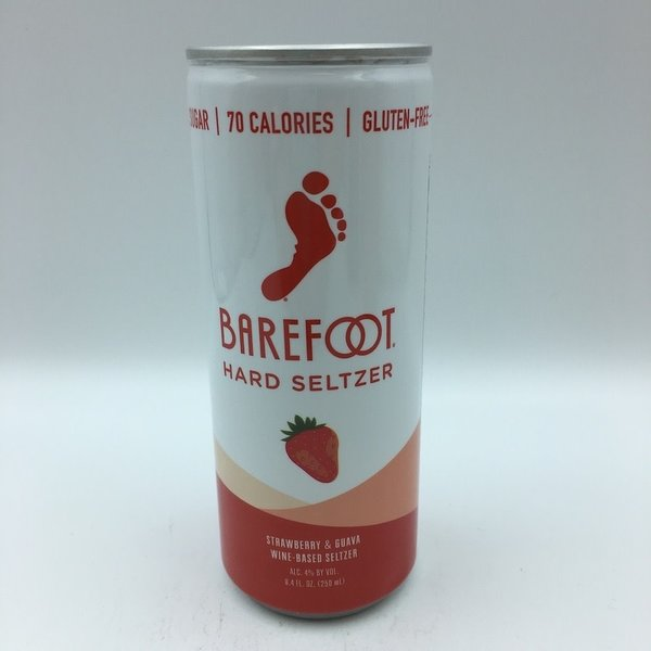 Barefoot Strawberry & Guava Wine Hard Seltzer 4PK 250ML