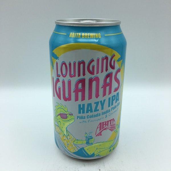 Abita Lounging Iguanas Hazy IPA 4PK 12OZ