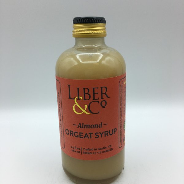 Liber And Co Orgeat Syrup 9.5OZ