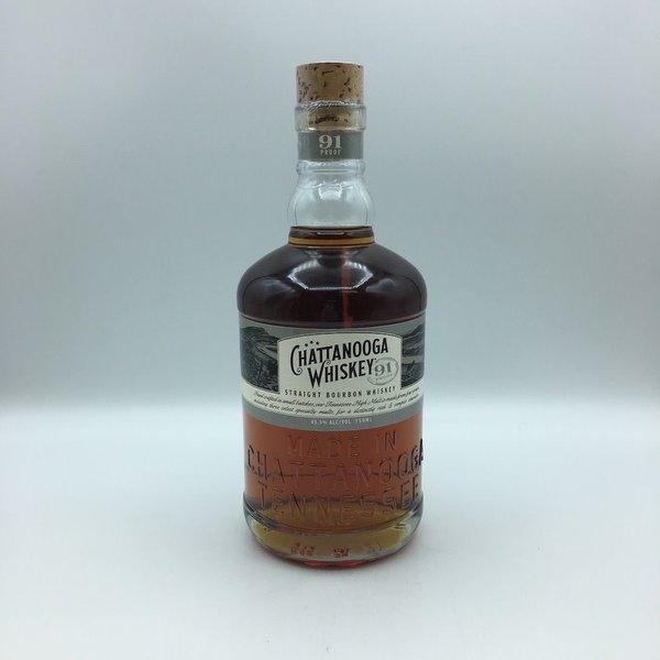 Chattanooga Whiskey 91 Proof Bourbon Whiskey 750ML