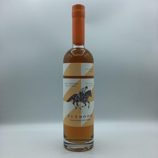 "Pinhook ""Bourbon Heist"" Straight Bourbon Whiskey ORANGE 750ML"