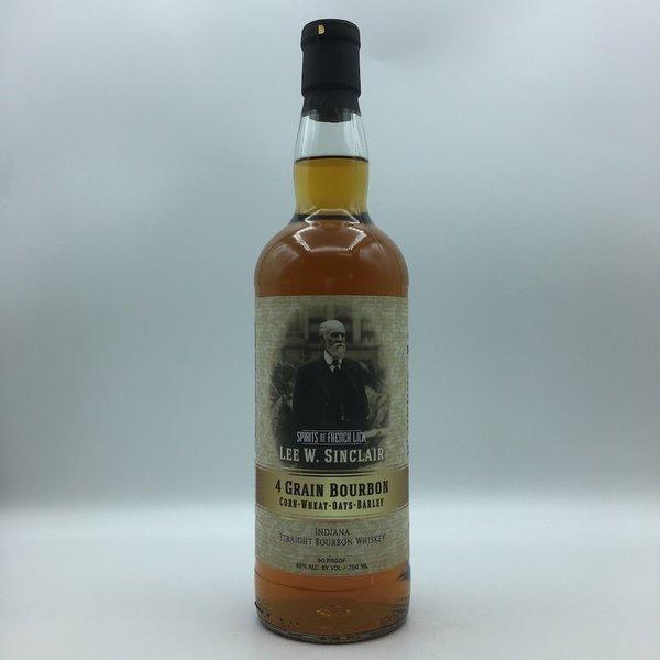 Spirits Of French Lick Lee W. Sinclair Four Grain Bourbon 750ML