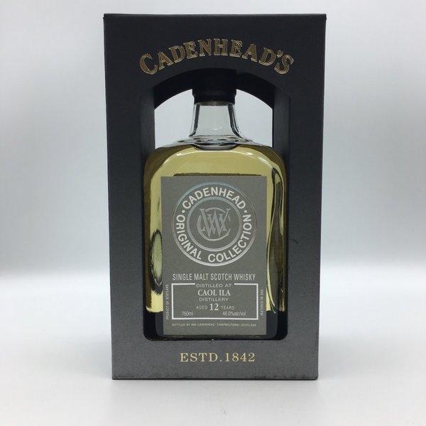 Cadenhead's Caol Ila 12YRS Single Malt Scotch Whisky 750ML