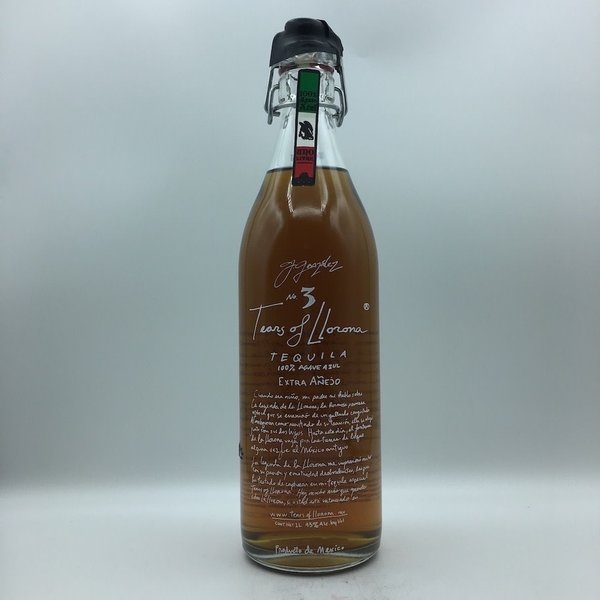 Tears Of Llorona Extra Anejo Tequila Liter