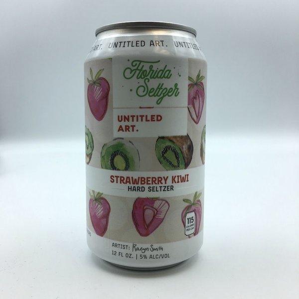 Untitled Art Florida Seltzer Strawberry Kiwi Hard Seltzer 4PK 12OZ