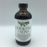 Cocktail & Sons Mint & Lemon Verbena 8OZ