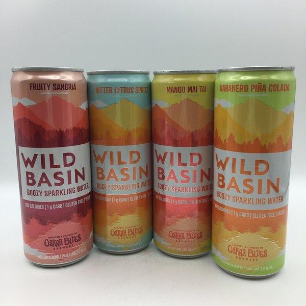 Oskar Blues Wild Basin Cocktail Inspired Boozy Sparkling Seltzer Variety 12PK 12OZ