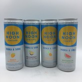High Noon Tropical Variety Pack Vodka &  Soda 8pk 355ML