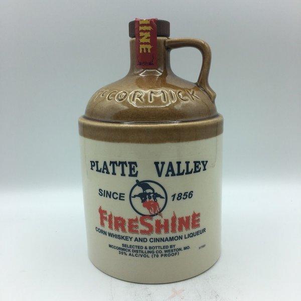 Platte Valley FireShine Cinnamon Whiskey 750ML