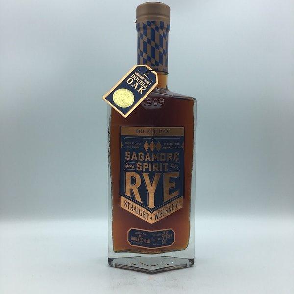 Sagamore Spirit Rye Whiskey Double Oak 750ML