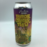 Pontoon Tropical Cluster F#$%! Berliner Weisse with Papaya, Passion Fruit, Guava & Pineapple SINGLE  16OZ