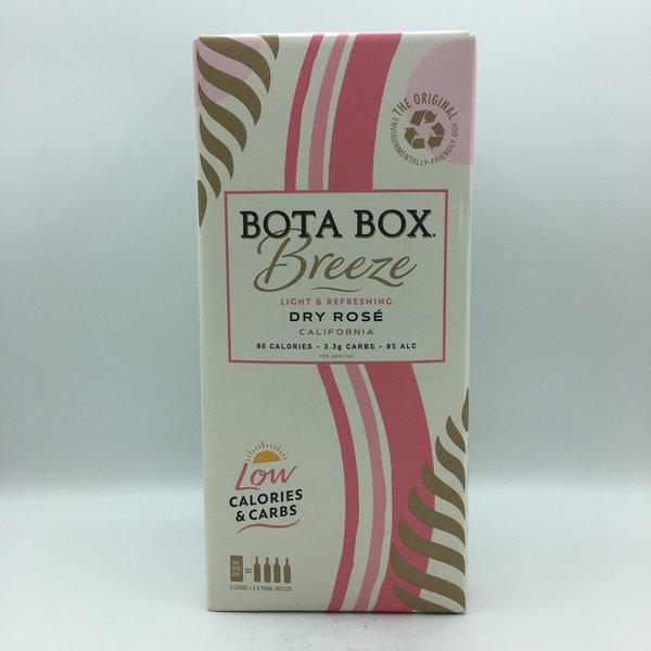 Bota Box Breeze Lo Cal Rose 3L