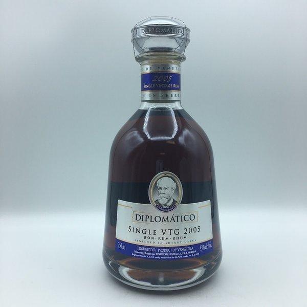 Diplomatico Single VTG 2005 Rum 750ML