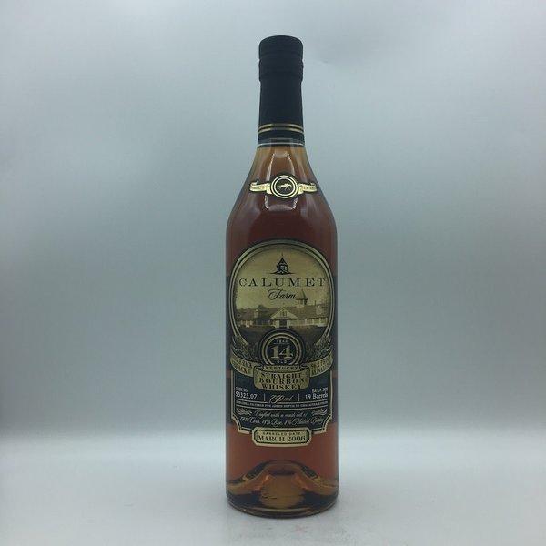 Calumet Farm Bourbon Whiskey 14YR