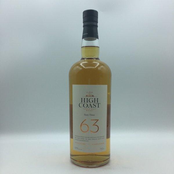 High Coast Sixty Three Single Malt Whisky 750ML