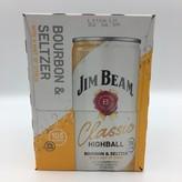 Jim Beam Classic Highball 4PK 12OZ