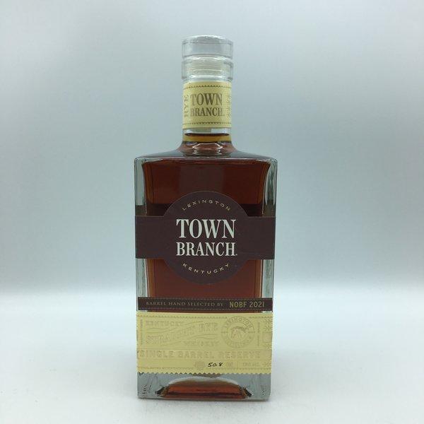 Town Branch Single Barrel Reserve Rye Whiskey 750Mal