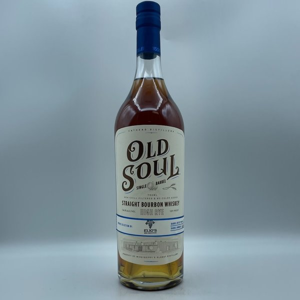 Old Soul High Rye Bourbon Whiskey Elio's Store Pick 750ML