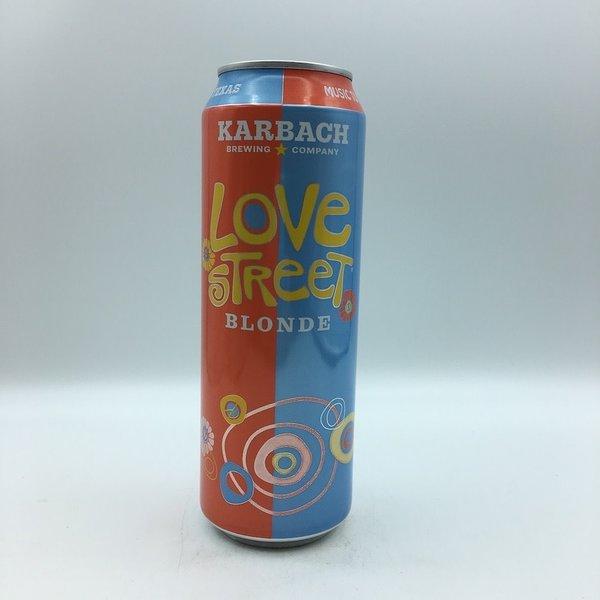 Karbach Love Street Blonde  19.2OZ
