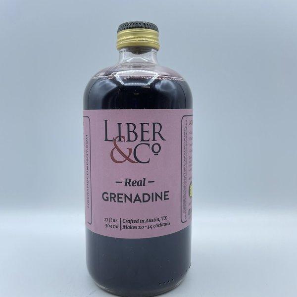 Liber And Co Real Grenadine 17OZ