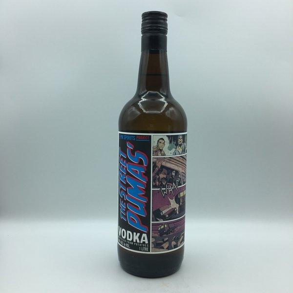 The Street Pumas' Vodka Liter