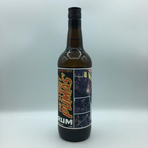 The Street Pumas' Rum Liter