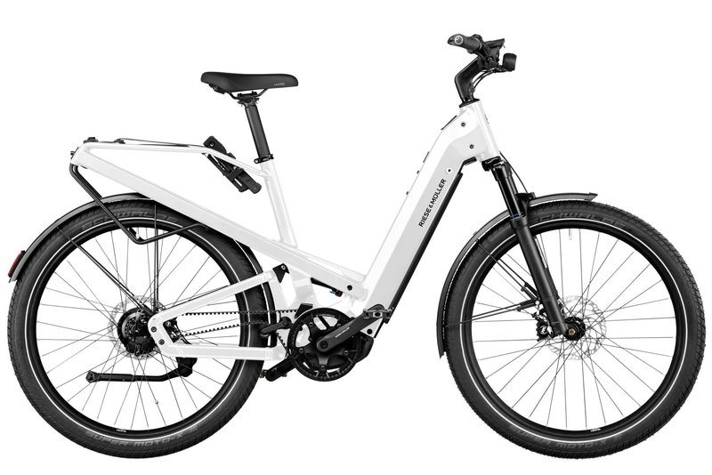Riese & Muller Homage GT Rohloff HS, 54cm, White 625Wh Nyon