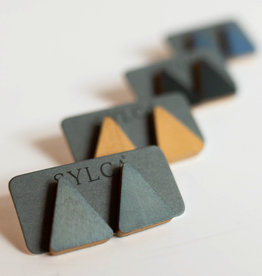 SYLCA Triangle Post Earring
