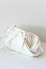 Melie Bianco Brandy White Snap Closure