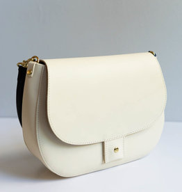 Clare V Harieth Cream w/Tubular Handle