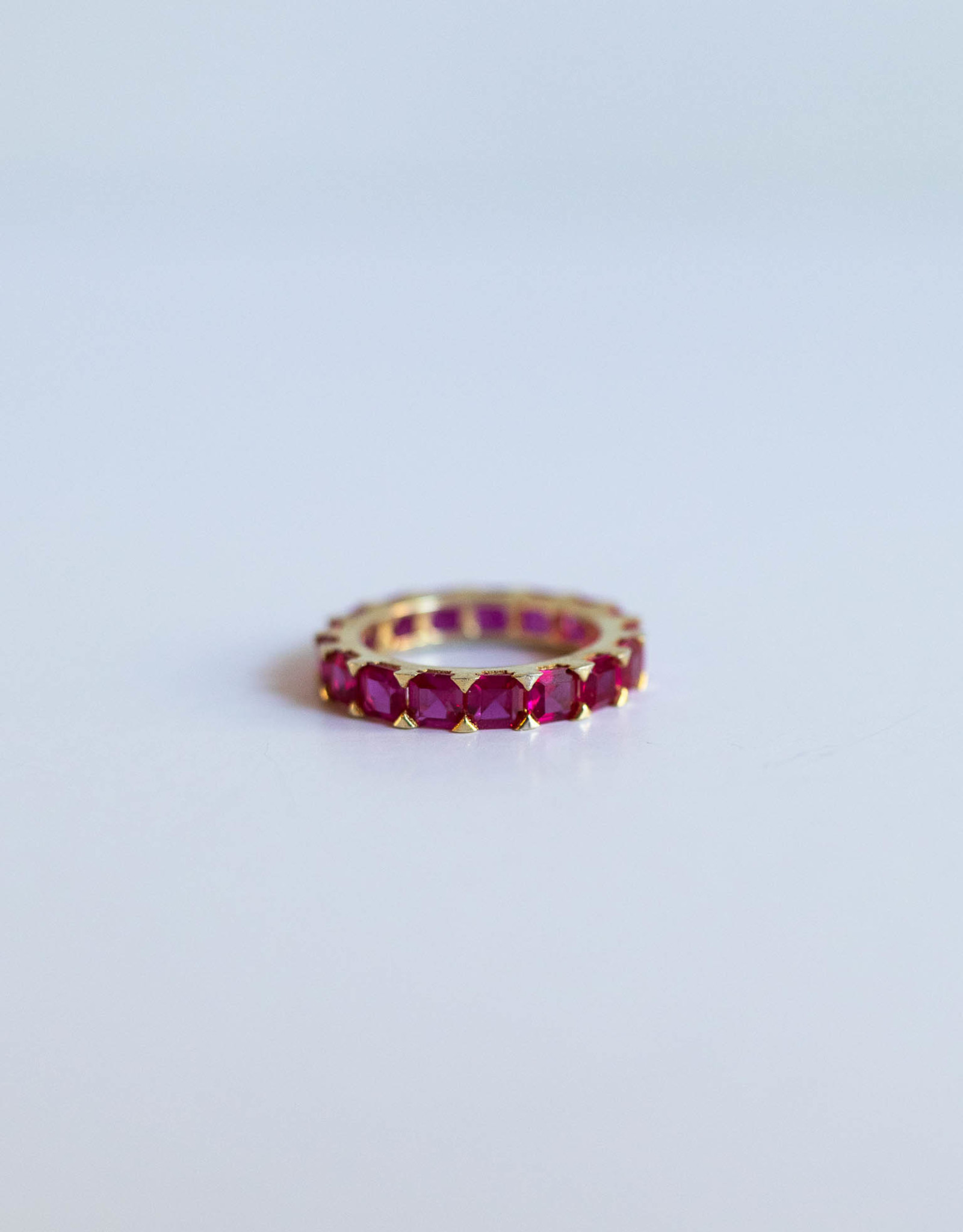 P and K Jewelry Large Eternity Ring