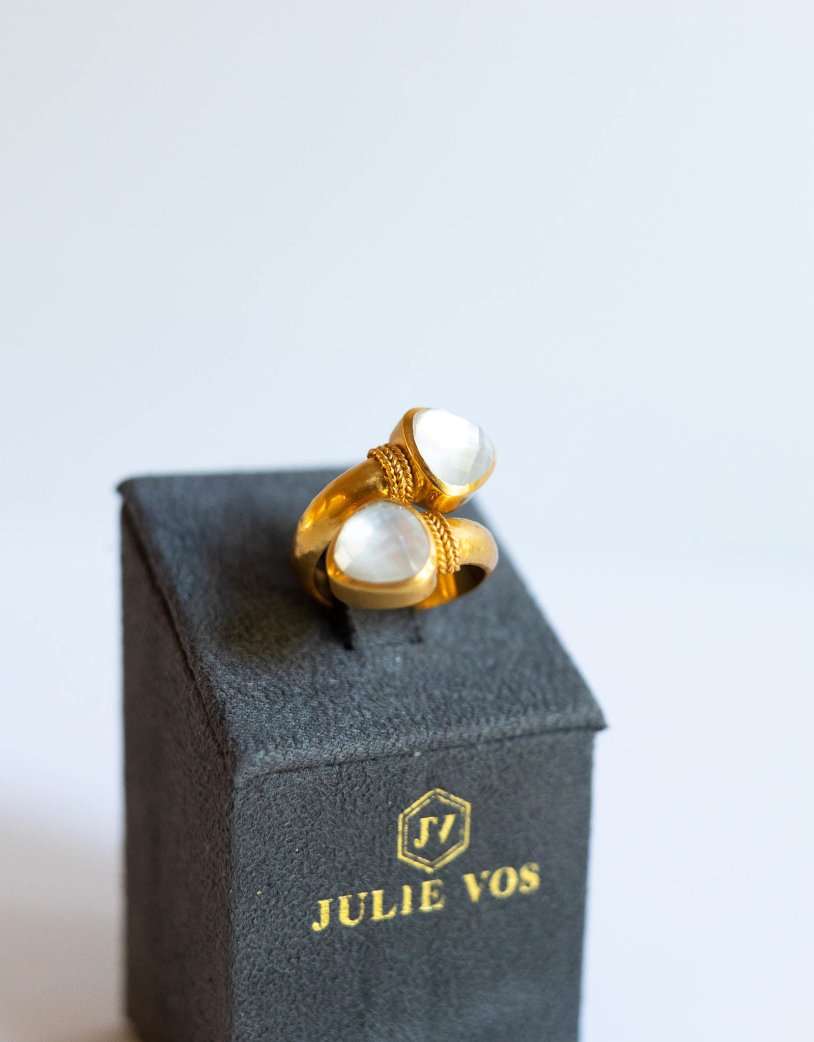 Julie Vos Paris Duet Ring