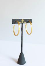 Julie Vos Crescent Hoop XL