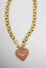 Gorjana Kara Heart Bracelet Blush