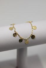 Gorjana Ana Coin Bracelet Gold