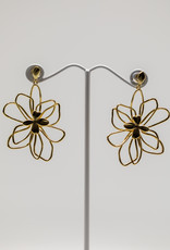 Gorjana Aven Flower Earrings Gold