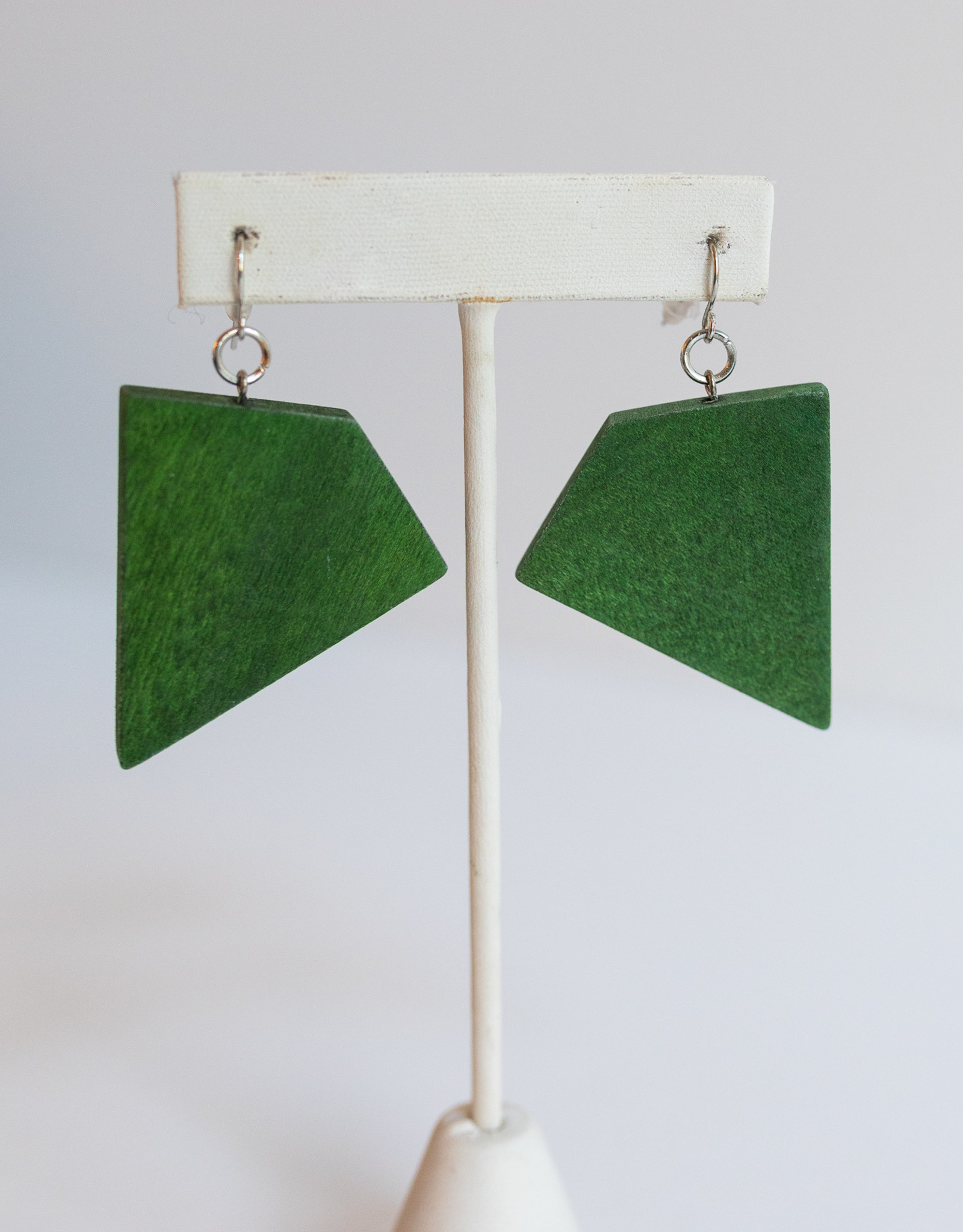 SYLCA Green Geometric Dangles EW19E02