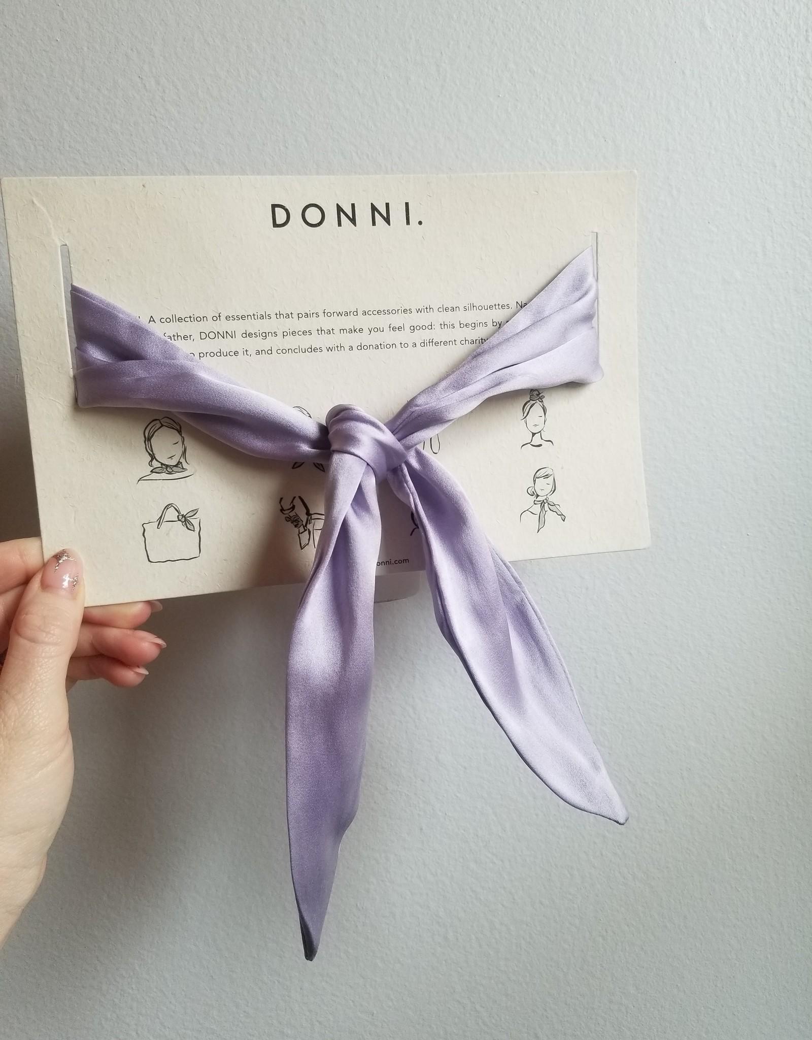 Silk Lilac Tie