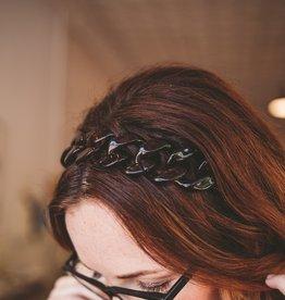 Tortoise Chain Silk Tie