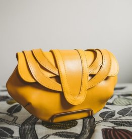 Areca Yellow Clutch