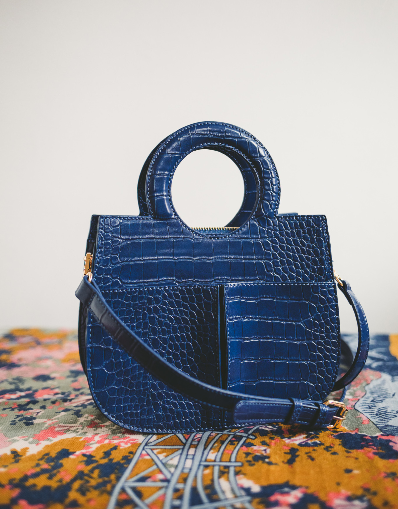 Structured Embossed Tote