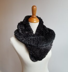 Linda Richards Large Funnel Fur Scarf