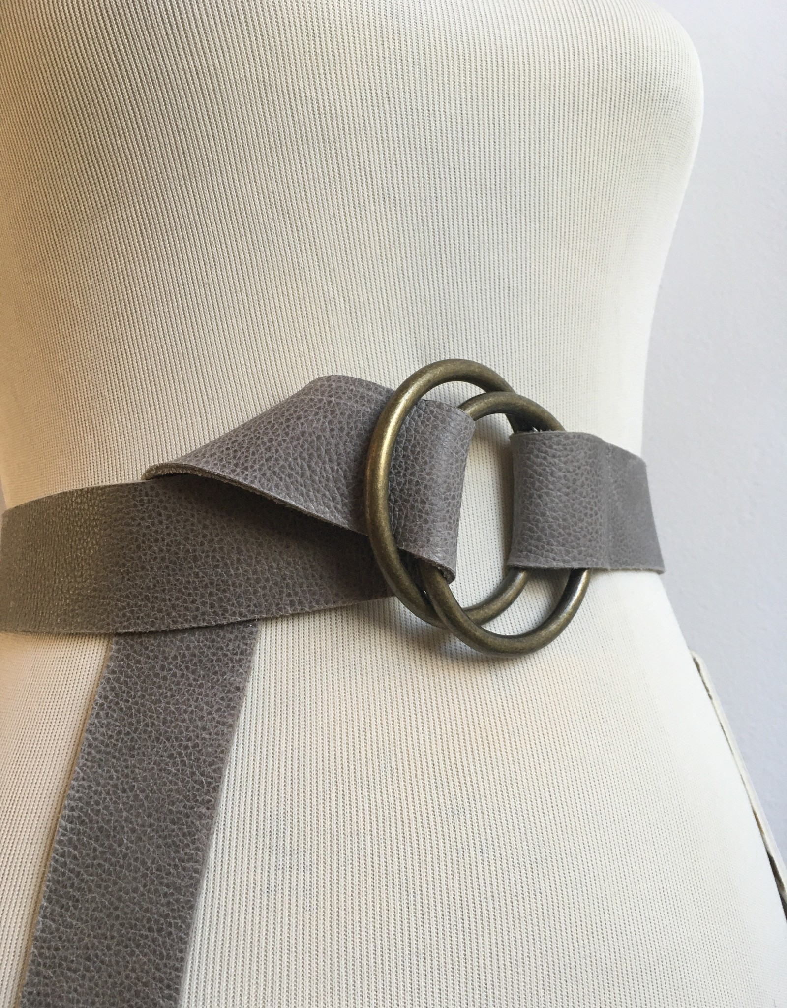Grey Pebble Sm Belt