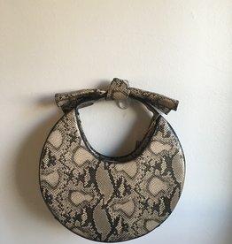 Snake Circle Bag w/ Bow