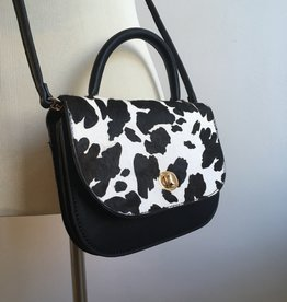 Cow Print Mini Crossbody