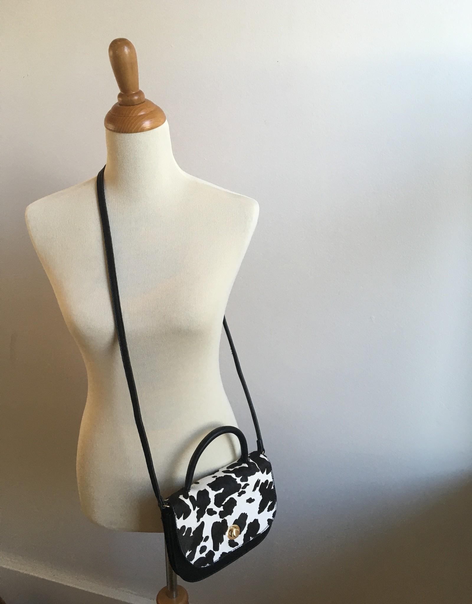Cow Print Mini Crossbody