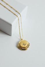 Gorjana Stellar Locket Gold