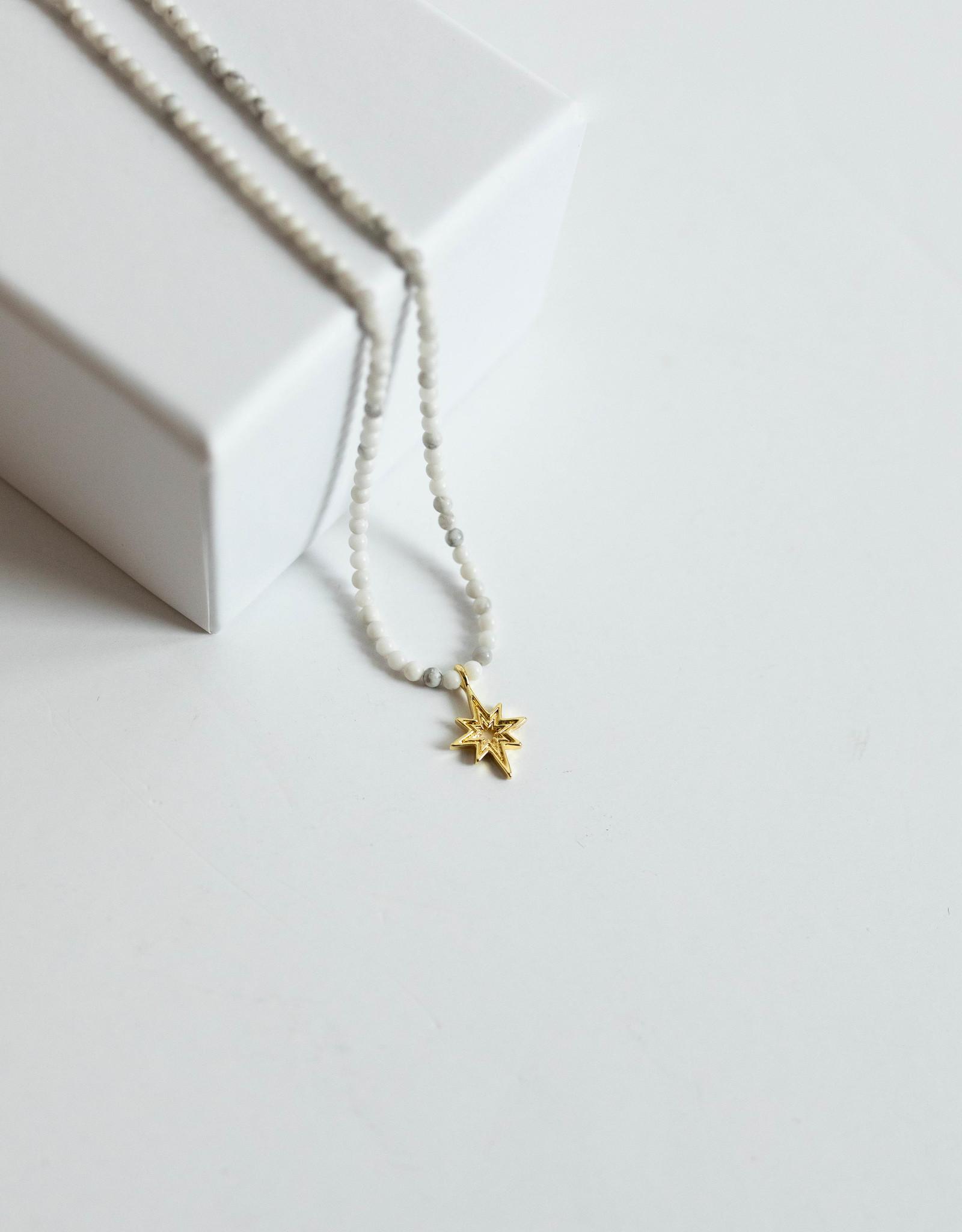 Gorjana Power Gem Mantra Necklace