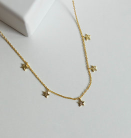 Gorjana Super Star Flutter Neck Gold